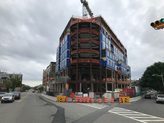 Downtown Montclair pictured on June 3, 2018. A 135-unit