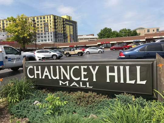 Chauncey Hill Mall, West Lafayette