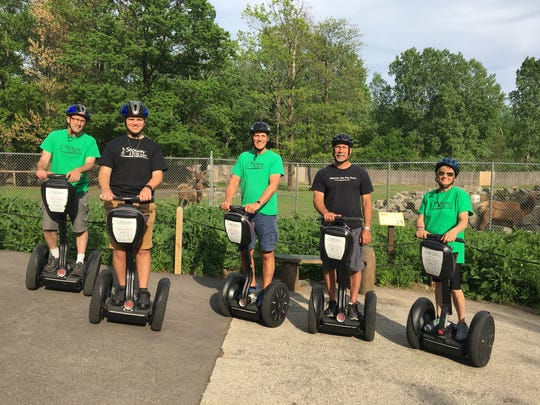 """Nick Dokolas' Segway tour business """"brings the fun"""" to corporate outings, sightseeing and more."""