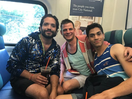 Jonathan-Joseph, Sean Kohler and Melvyn Merrero, left to right, have all attended New York City Pride several times before.