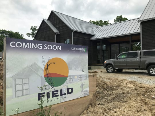 Brewery and gastropub Field Brewing opens in summer 2018 in Westfield.
