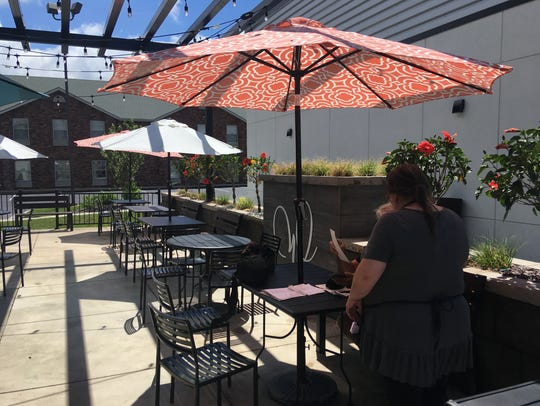 Wildseed in Strafford has a patio for those nice, sunny