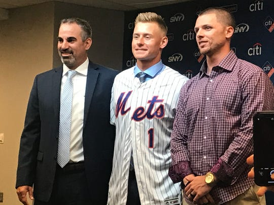 Mets first-round pick Jarred Kelenic is introduced