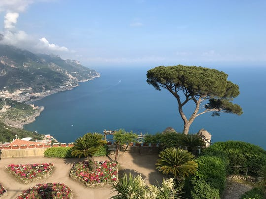 The breathtaking view from Villa Rufolo in Ravello, Italy.