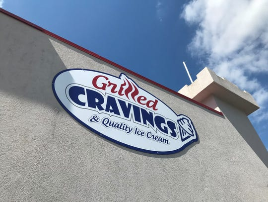Grilled Cravings & Quality Ice Cream opened June 26