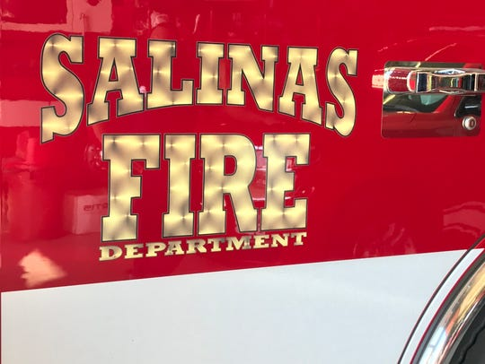 Salinas Fire Department engine