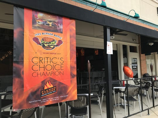 Flamme Burger was in Fishers, but when parking proved