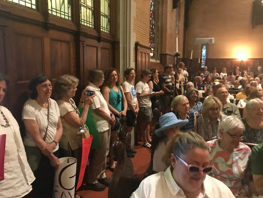 More than 250 people attended Saturday's Families Belong