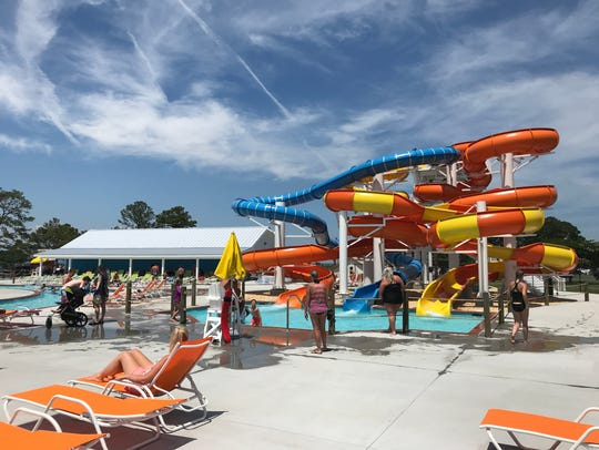 Maui Jack's Waterpark, located on Chincoteague Island,
