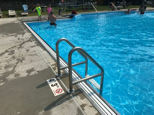 During the offseason, Hasbrouck Heights Swim Club had renovations including a new filtration system.