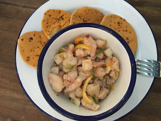 I loved the shrimp ceviche at Manolito in the French Quarter, but their food menu is pretty limited. Check it before you go.