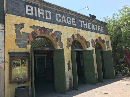Any similarity between the Bird Cage Theater at Knott's
