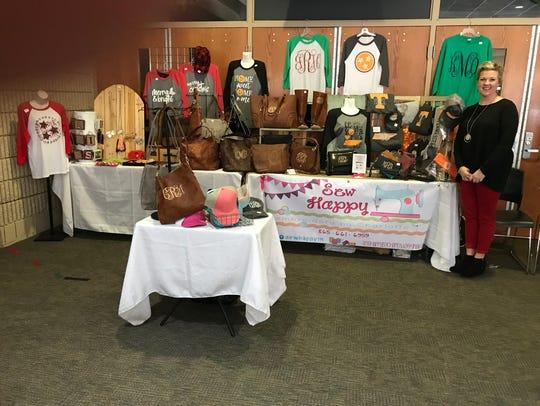 Rhyne's impressive event set-up.