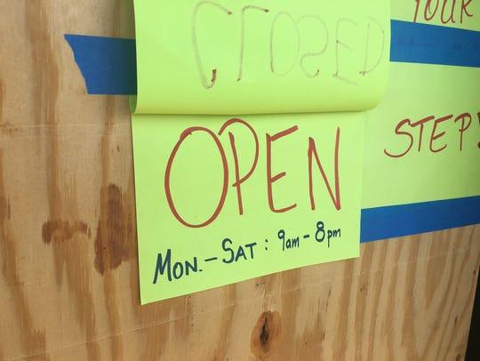 Tennessee Hemp Company on West Clark is still open