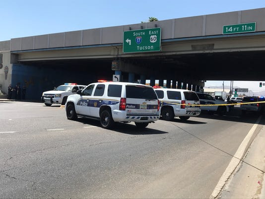 Police Activity I-17 and Seventh Avenue