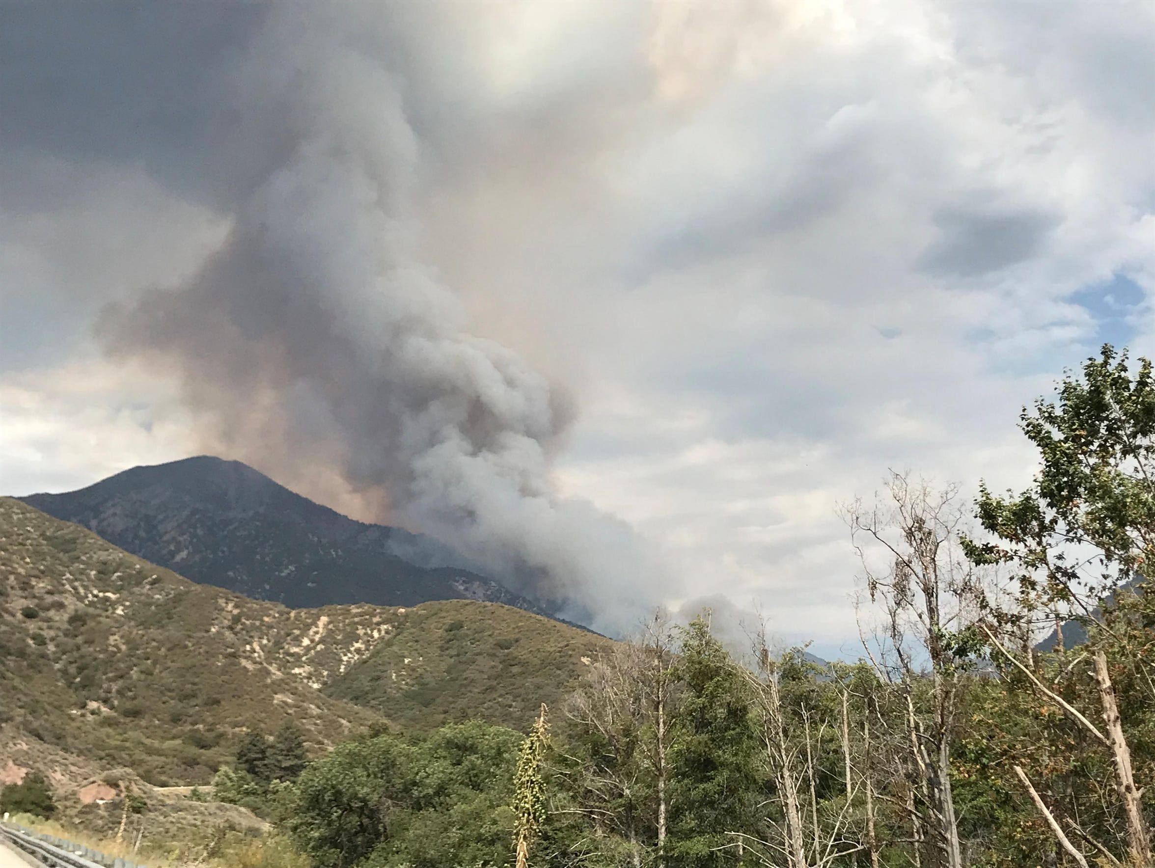 The Valley fire in the San Bernardino National Forest near Forest Falls began on July 6 and took more than three months to fully contain.