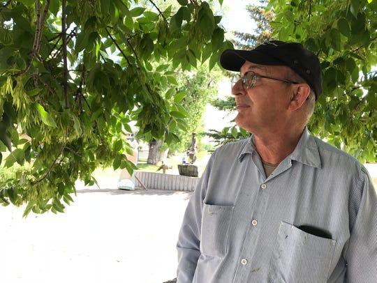 Rodger Hankins says he hopes Sen. Jon Tester, who also