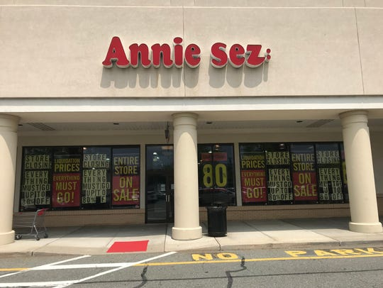 The Annie Sez store in Paramus is expected to reopen