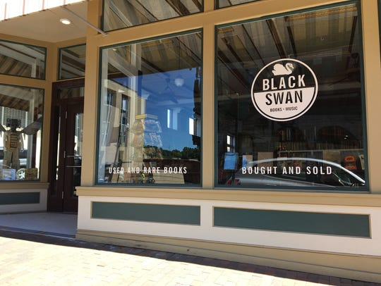 Black Swan Books and Music located at the corner of