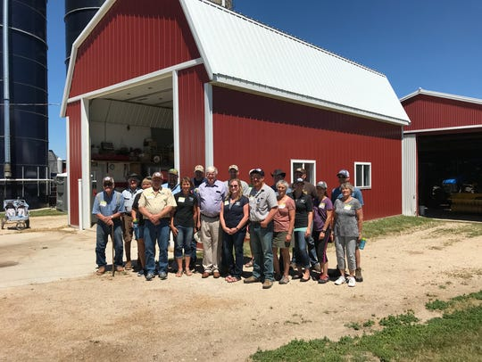 Organic Valley farmers asked Rep. Glenn Grothman questions