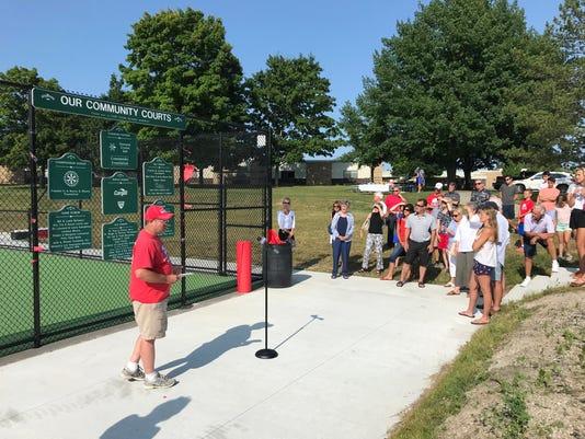 St. Clair tennis courts
