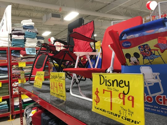 Ollie's Bargain Outlet features a range of merchandise, from housewares, to books, to electronics.