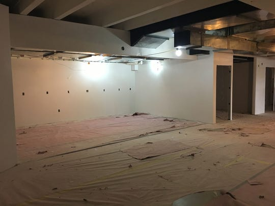 The Cura Coffeehouse space as it looked in February, before renovations began.