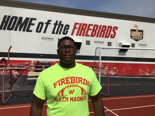 Senior Ladonnis Griffin of Lakota West started a GoFundMe page for the family of Matt Stratman
