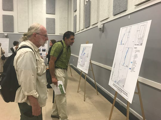 Residents from mid-Hudson Valley attended Wednesday's Army Corps of Engineers meeting addressing New York flood proposals.