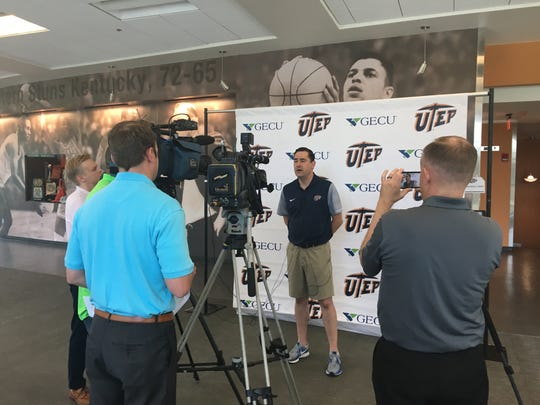 Kevin Baker discusses the UTEP women's basketball team's schedule