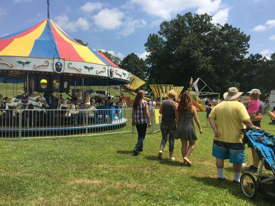 The Waynesboro Extravaganza was held on Saturday in Ridgeview Park. Between 10,000 and 15,000 people were expected to attend the celebration.