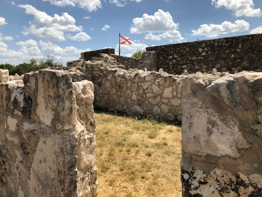 Presidio de San Saba was founded in 1757 and operated