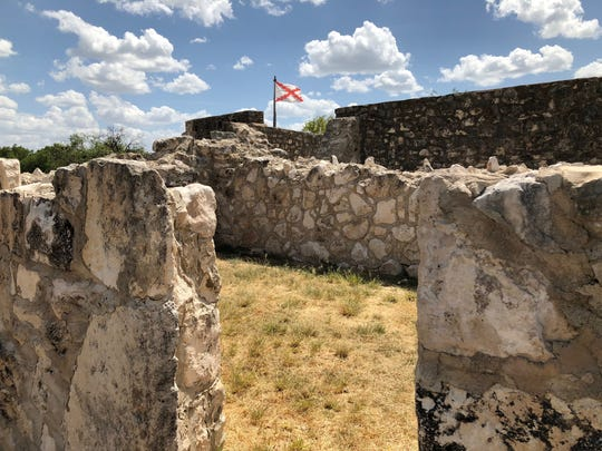 Presidio de San Saba was founded in 1757 and operated by the Colonial Spanish Army.