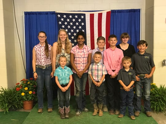Local 4-H members competing in the 25th annual All-American