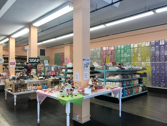 Inside Candyland Crafts.