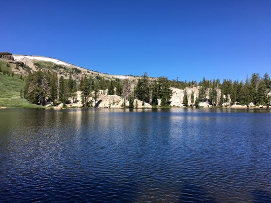 Carson Pass to Showers Lake