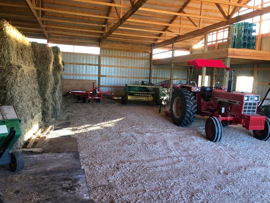 Suzi Sevcik, owner of Sleepy Hollow Farm, looked to a microloan program to expand a barn on her 34-acre farm. The program is part of a partnership between SCORE and the U.S. Department of Agriculture.
