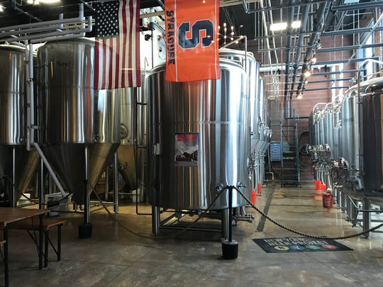 The production space at the New York Beer Project in