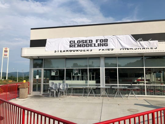 Steak 'n Shake in Waynesboro Town Center has closed.