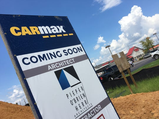 CarMax filed initial plans to open a Visalia location along Mooney Boulevard last month. The Fortune 500 company confirmed that the city is 'a good fit' for its signature used-car lots, noting that the store's grand opening could be 2-3 years off.