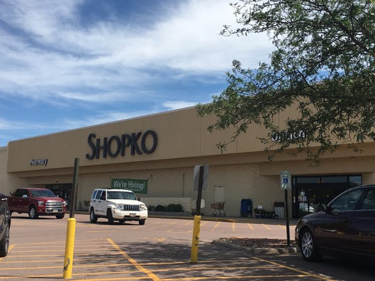 The Shopko located at 1601 W. 41st St. The location