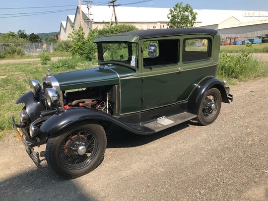 Timm Dowden of Elmira has two everyday vehicles, both of them 1930 Model A Fords.
