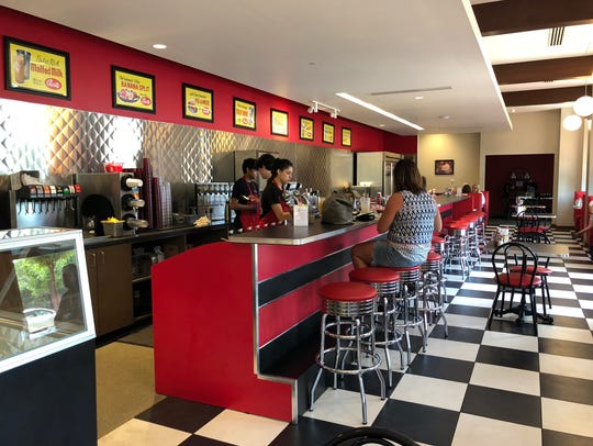 The Elliston Place Soda Shop in Cool Springs has maintained