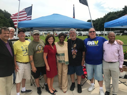 Lt. Gov. Kathy Hochul at the Westchester Hispanic Cultural Celebration in Valhalla on Sunday