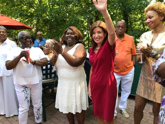 Lt. Gov. Kathy Hochul at the Mount Vernon Woman's Black
