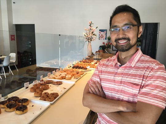 Jay Chavez and his wife, Anita Chavez, opened Project Donuts, which serves hand-crafted confections at 287 S. Church St. in Murfreesboro.