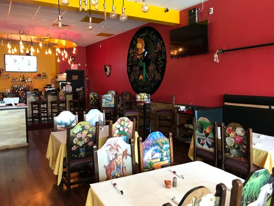 The dining room at Mesa Maya in Yonkers on July 18,