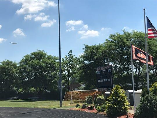 Hasbrouck Heights' multipurpose Depken Field is located