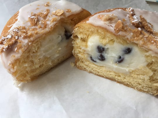 Cannoli Donuts from Sugarr Craft Donuts + Coffee in