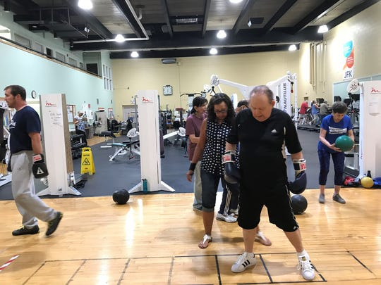 On July 23, the JFK for Life, Health & Fitness Center, part of Johnson Rehabilitation and the Hackensack Meridian Health System celebrated it's one year anniversary of Rock Steady Boxing.